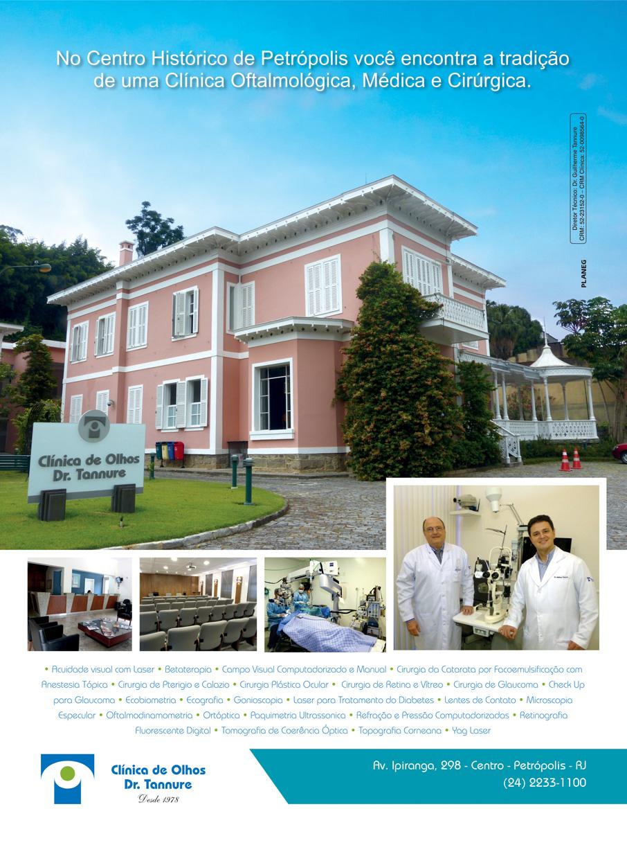 1f11f9ab6 Anúncio Institucional Clínica de Olhos Dr. Tannure - Planeg ...